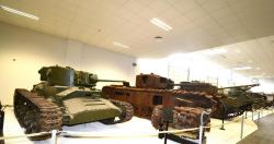 14 Valentine V, Churchill and Comet tanks