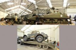 16 armored vehicles staghound