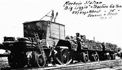 Big Lizzie in 1918 with Bottrill Wheels 1918