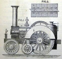 1860 G Fuller Guy Tracked Traction Engine