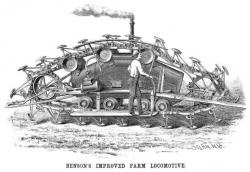 1886 Bensons Crawler Improved Farm Locomotive