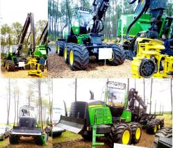 20 john deere 1210e forwarder 8x8