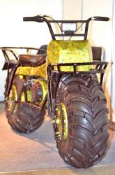 2x2 motorcycle from off road exibition at crocus moscow