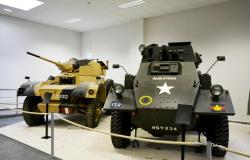 3 Daimler and Fox armoured car