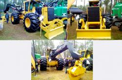 42 tigercat 610e skidder