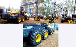 4b ponsse king scorpion harvester 8x8