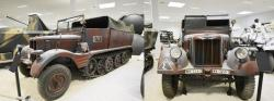 5 Borgward SdKfz 11, 3 t light traction vehicle