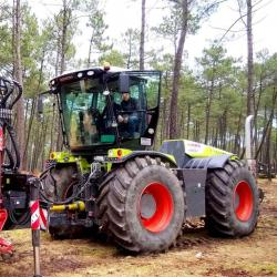 57 claas 4500 xerion tractor