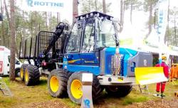 5b rottne f13 forwarder 8x8