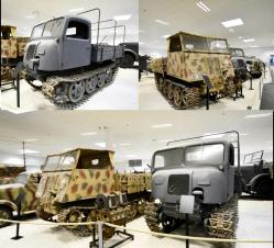 9 Raupenschlepper Ost Caterpillar tractor East