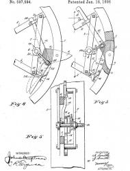 A J Smith Traction Wheel, 1899