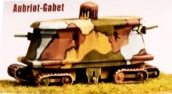 Abriot and Gabet Project of Armored Vehicle
