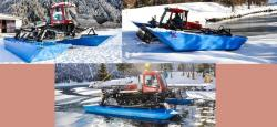 Amphibious device for Pisten Bully Paana