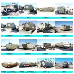 Amphibious Vehicles at Barstow 2