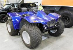 ATV at off-road show