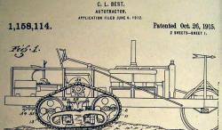 C. L. Best Autotractor patent, 1912