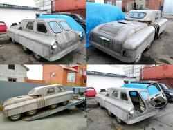 Chelyabinsk Articulated 8x8 Vehicle 1950-51