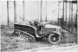 Crossley Tracked Car, 1925