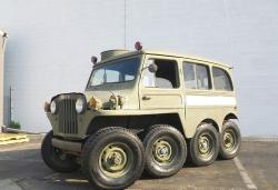 Custom 1953 8X8 Willys Jeep, the Centipede