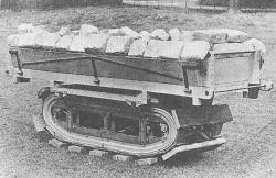 Diplock Single Wide Track Cart, 1915