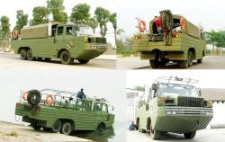 Dongfeng 2102 amphibious vehicle