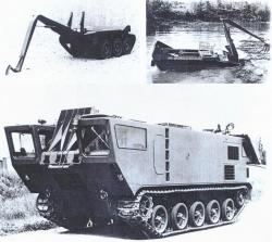 Enfrac Crossing Assistance Vehicle, 1971