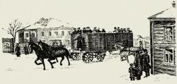 Feodor Abramovich Blinov Tracked Carriage, 1880