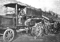 Fiat Artillery Tractor with Tracks, 1917