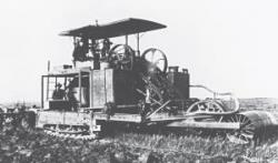 First Holt Tractor, 1904