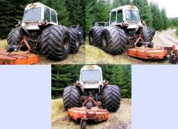 Ford county with flotation tyres