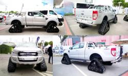 Ford ranger 4x4 with acf tracks