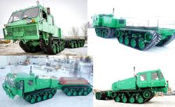 Foremost chieftain r tracked carrier