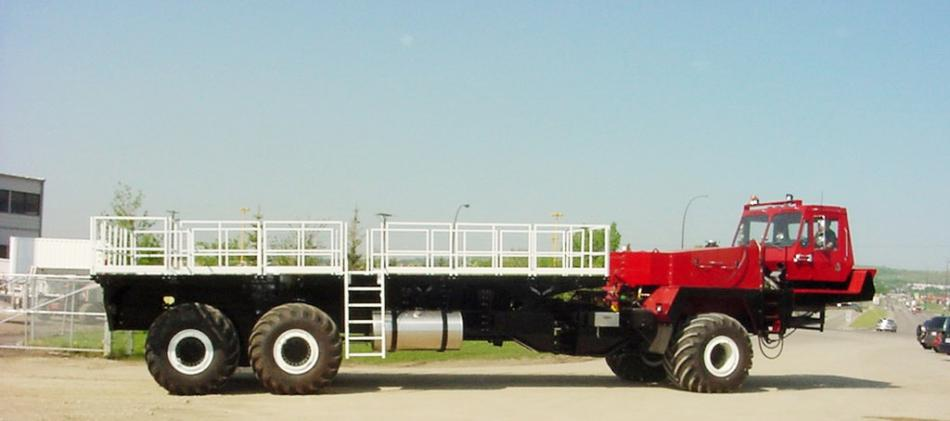 6X6 WHEELED ARTICULATED VEHICLES, HEAVY