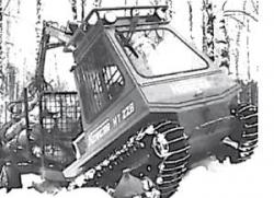 Formatic K snow vehicle