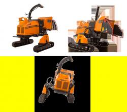Forst xr8 traxion wood chipper