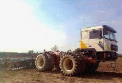 Front cab 4x4 tractor