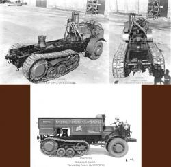 FWD LTD Semi-Tracked Vehicle