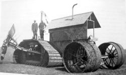 Garrett Peat Harvester Ditcher, after 1949
