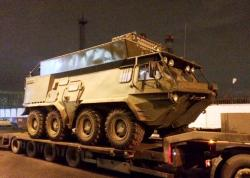 Gaz 5903 btr 80 for civil use