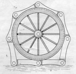 Gompers Wheel Track, 1831