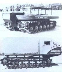 Ground Hog 1949 and Oliver Test Bed, 1953
