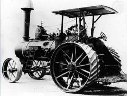 Holt Steam Powered Wheeled Tractor