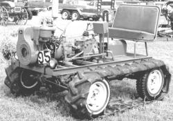 Home Built Tracked Vehicle