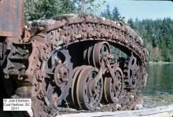 Horsby Tractor in Vancouver Island at Apple Bay, 1927-1983