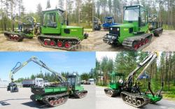 Jarcrac harvester forwarder and dumper 1