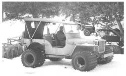 Jeep with wide tires 1943