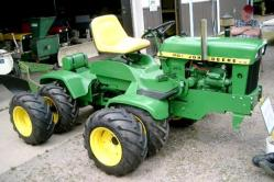 John deere model 140 articulating modified