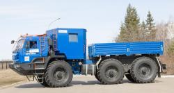 Kamaz Arctic 6x6 Articulated Truck