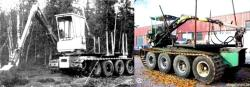 Karl Gustav SK and Gremo tracked vehicles