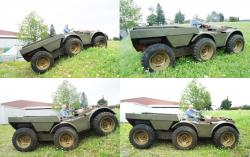 Kassbohrer Flexmobil 6x6 articulated